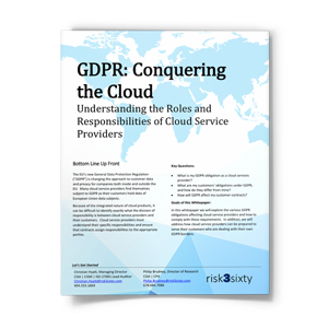 GDPR: Understanding the Roles and Responsibilities of Cloud Service Providers