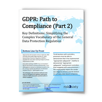 GDPR: Simplifying the Complex Vocabulary of the General Data Protection Regulation