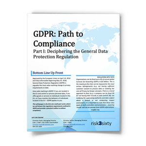 GDPR: Simplifying the General Data Protection Regulation
