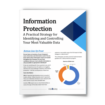 Information Protection: A Practical Strategy for Identifying and Controlling Your Most Valuable Data