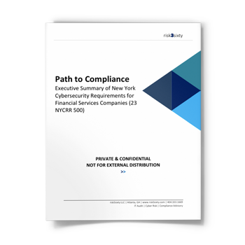 New York Cybersecurity Regulations – Path to Compliance