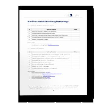 WordPress Website Security Hardening Checklist