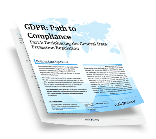 GDPR Compliance Whitepapers