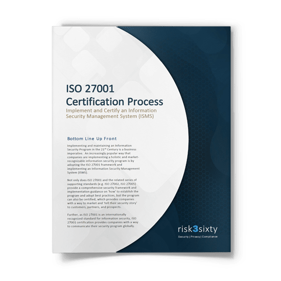 ISO 27001 Certification Process Whitepaper