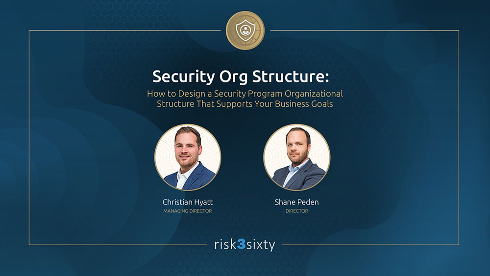 Webinar Security Structure
