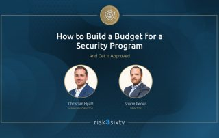 How to Build a Security Budget